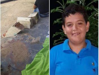 Criança de 11 anos morre após ser atingida por pilastra que desabou de residência em Major Izidoro