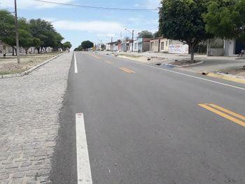 Rodovia que dar acesso ao Povoado Areia Branca em Santana do Ipanema, Sertão de Alagoas
