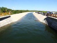 Trecho do Canal do Sertão